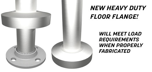 Heavy Duty Floor Flanges
